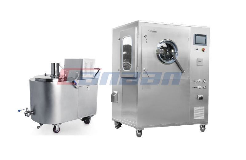BGK Series High-efficiency Film Coater with Perforated Drum