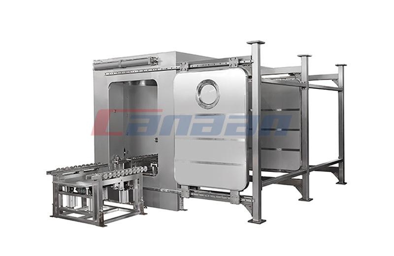 QDS Series Bin Washing Station, Double Chamber